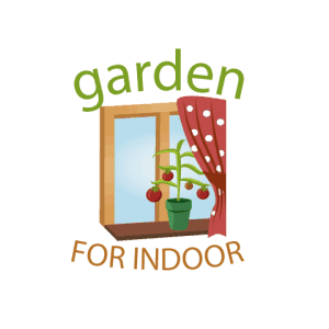garden for indoor logo