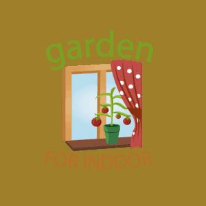 garden for indoor logo